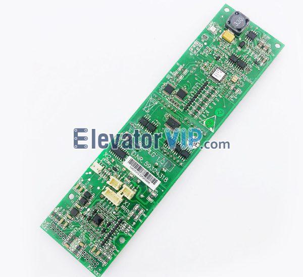 3300 Elevator LOP Display PCB, 3600 Elevator HOP Display Indicator Board, BLOPILG 1.Q, ID.NR.59324318