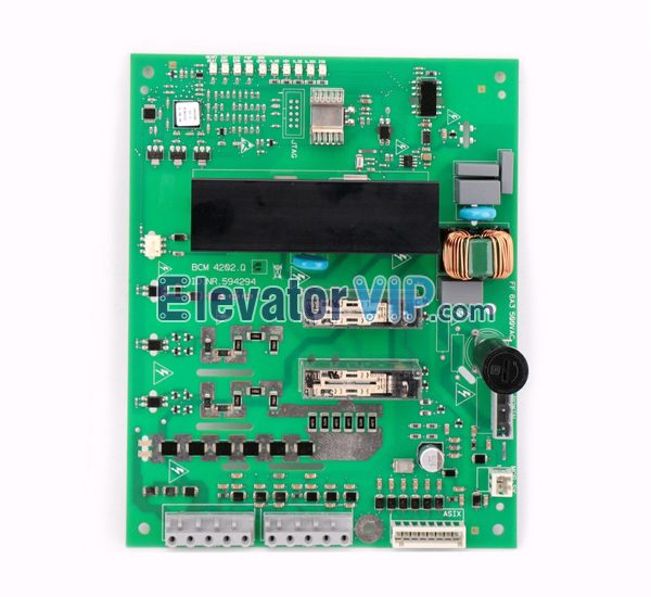 5500AP Elevator Brake Board, 7000 Elevator Holding Brake Control PCB, BCM 4202.Q, ID.NR.594294