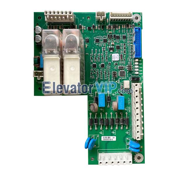 5500 Elevator Control Cabinet Brake Board, BCRM 2002.Q, ID.NR.594310