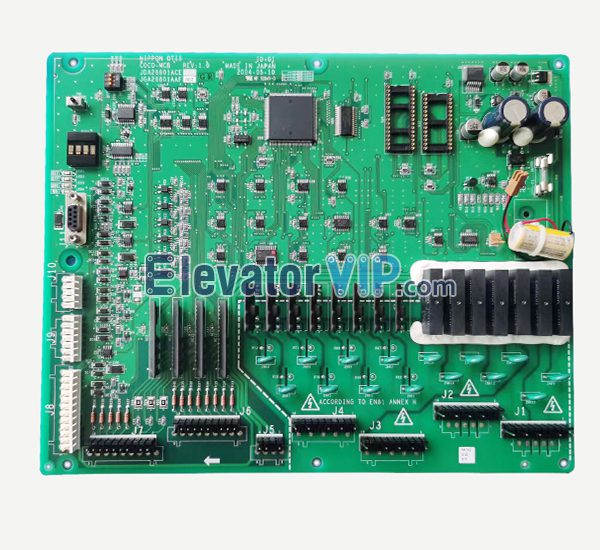 NIPPON OTIS Elevator COCO-MCB PCB, JGA26801AAF002, JFA26801AAF002, JDA26801ACE, JGA26801AAF2, JGA26801AAF4