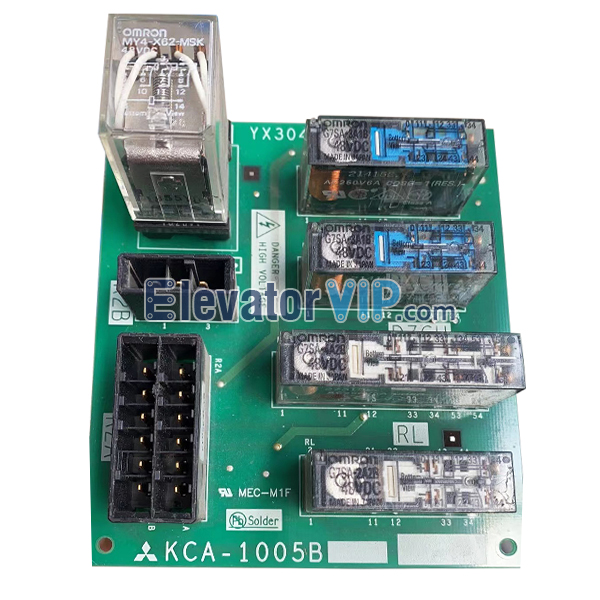 Mitsubishi Elevator Relay Board, KCA-1005B, KCA-1005A, KCA-1009A, YX304B537