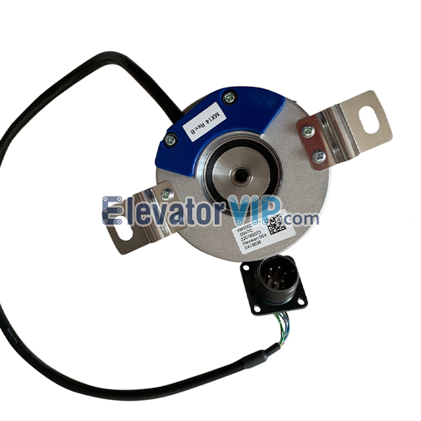 KONE Elevator Tractor Encoder, KONE Elevator MX14 Drive Machine Rotary Encoder, KM1331189, TS5246N705