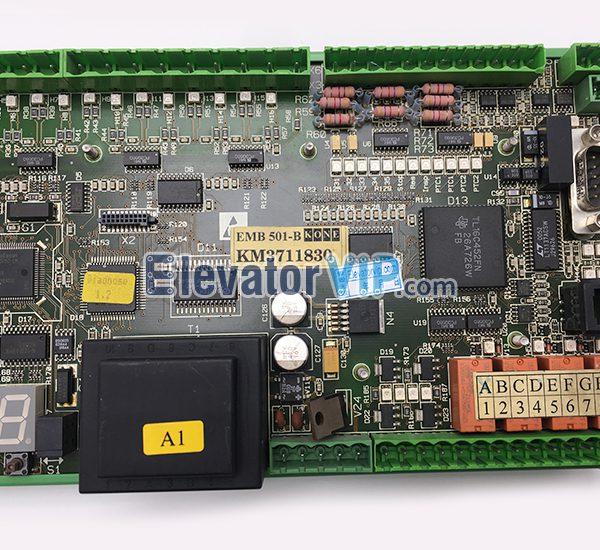 KONE Escalator Board Supplier, KONE Escalator EMB 501-B PCB, KM3711830
