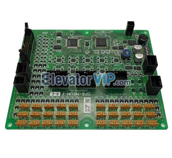 Hitachi Elevator HVF5 Cabin Communication PCB, OPB-MPUM-F
