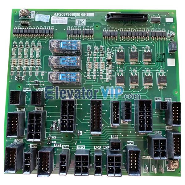Mitsubishi Elevator LEHY-MRL Interface Board, P203736B000G01
