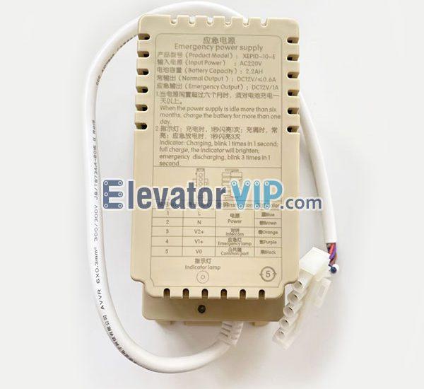 Elevator Car Top Emergency Power Supply, XEPID-10-E
