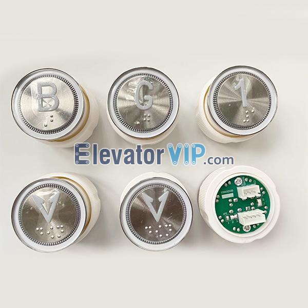 BST Elevator Push Button, Elevator Push Button Braille, Y0910233B, Y0910233A