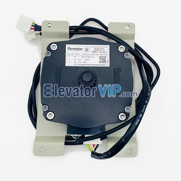 Fermator PMvC Elevator Door Motor, Elevator Synchronous Door Operator, Fermator VF5+ Door Motor, PMvC Lift Door Motor