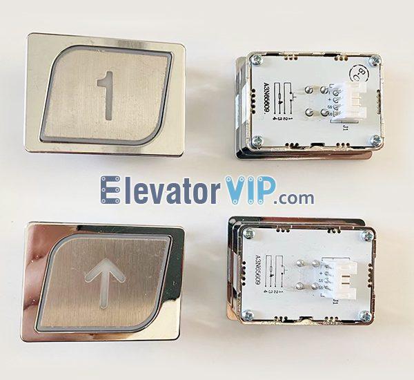 Sanyo Elevator Push Button, BST Elevator Push Button Orange Light, A3N65609