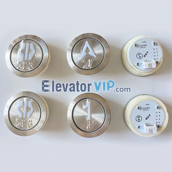 BST Elevator Push Button, Elevator Push Button Braille, A4N18639, A4J18638