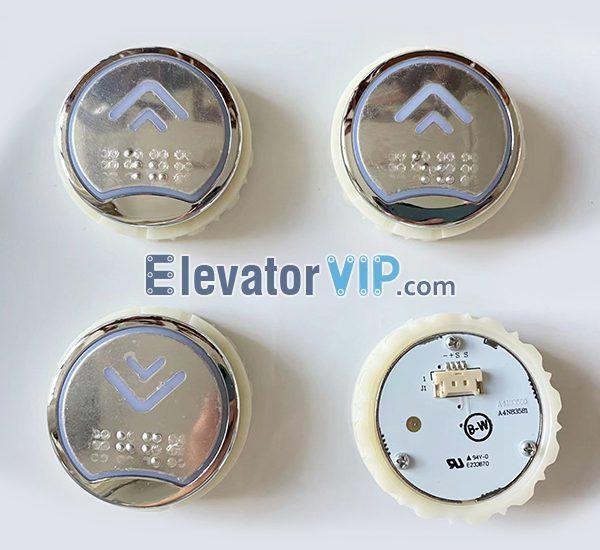 BST Elevator Push Button, Elevator Push Button Braille, A4N83581, A4J83580