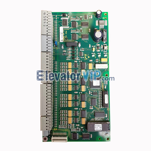 Schindler Escalator 2000 PCB, PES 1.Q, ID.NR.590811, Schindler 9300 Escalator Control Cabinet, LP.ID.NR.205218