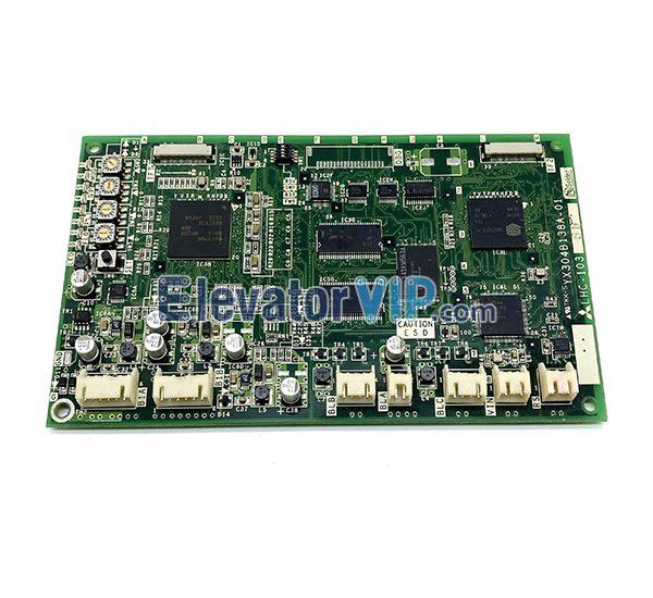 Mitsubishi Elevator LCD Multimedia Display PCB, Mitsubishi Elevator LCD Indicator Board, MAXIEZ Lift Communication Control Board, LHC-1037C, LHC-1036D