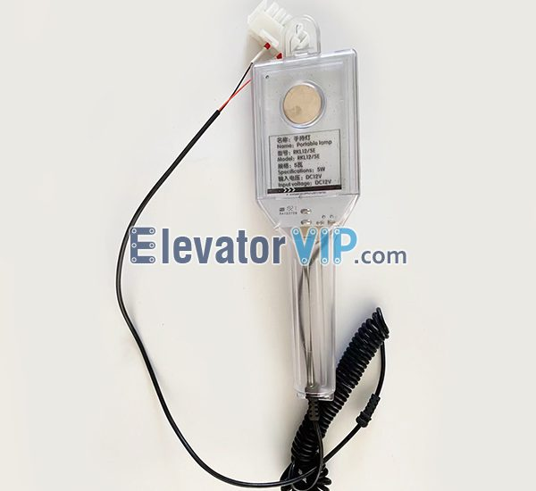 ThyssenKrupp Elevator Car Top Hand-held Light, RKL12/5E